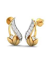 KuberBox 14K Yellow Gold Yellow Gold Stud Earrings