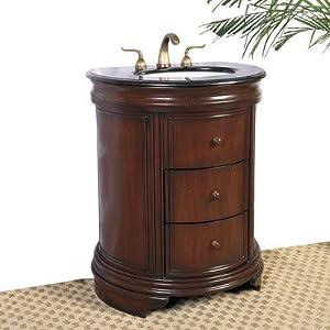 Legion Furniture LF03 28-Inch Single Sink Chest Bathroom Vanity