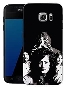 "Lovely Led Zeppelin Printed Designer Mobile Back Cover For ""Samsung Galaxy S7 Edge"" (3D, Matte, Premium Quality Snap On Case)"