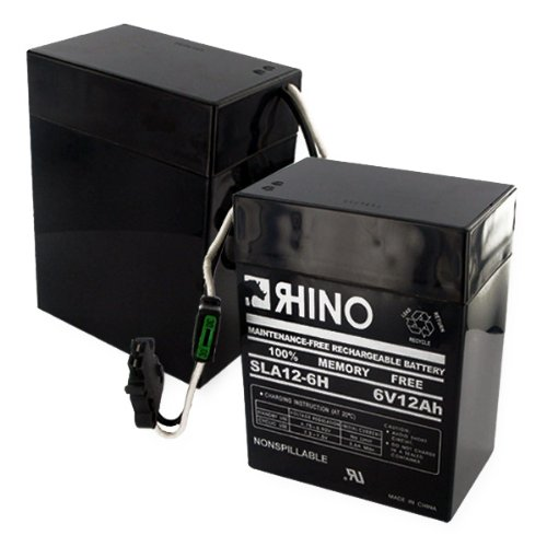 6 Volt 12Ah ( H Connector)-Battery