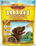 Zukes Mini Naturals Dog Treats, Peanut Butter, 6oz ( Multi-Pack)