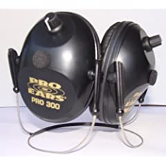 Pro Ears Behind - the - Head Pro 300 Hearing Protection and Amplification Ear Muffs by Pro Ears