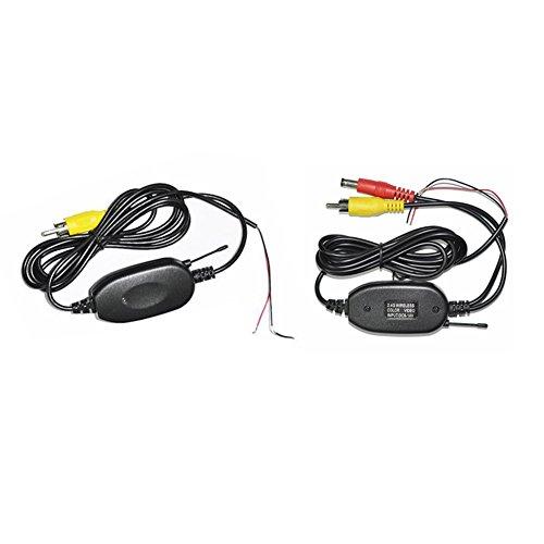 Transmetteur VidšŠo professionnelle couleur sans fil et ršŠcepteur pour la voiture Monitor, Autoradio, lecteur DVD et appareil photo