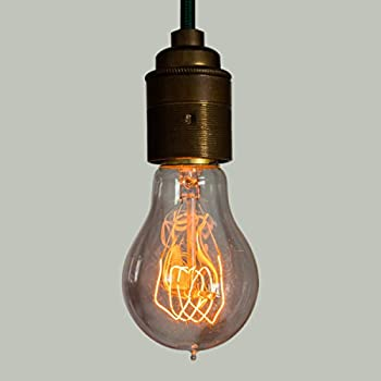 Edison Light Bulb - 40W A19 Quad Loop Filament bulb - Vintage - Shmeer Lighting