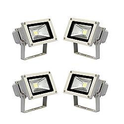 Soy Impulse Set of 4 10w High Quality LED Flood Light