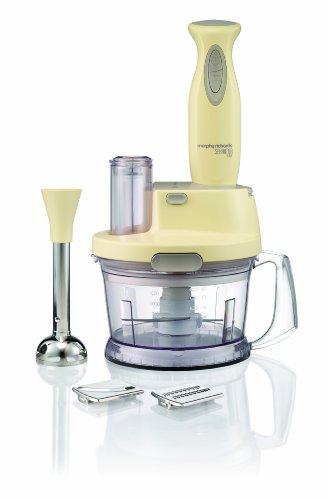Morphy Richards 402503 Accents Hand Blender/Work Centre with Serrator Blade - Vintage Cream