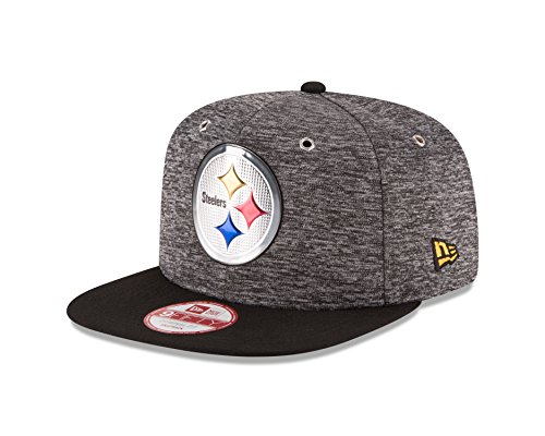 NFL Pittsburgh Steelers 2016 Draft 9Fifty Snapback Cap, One Size, Heather Gray at Steeler Mania