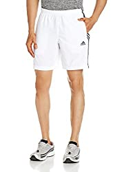 adidas Men's Synthetic Shorts (4056563523698_B47450_S_White)