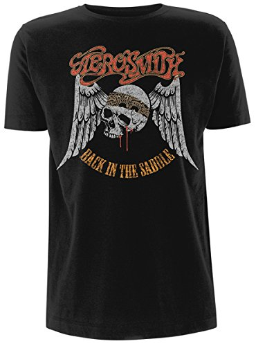 Aerosmith Back In the Saddle T-Shirt nero M