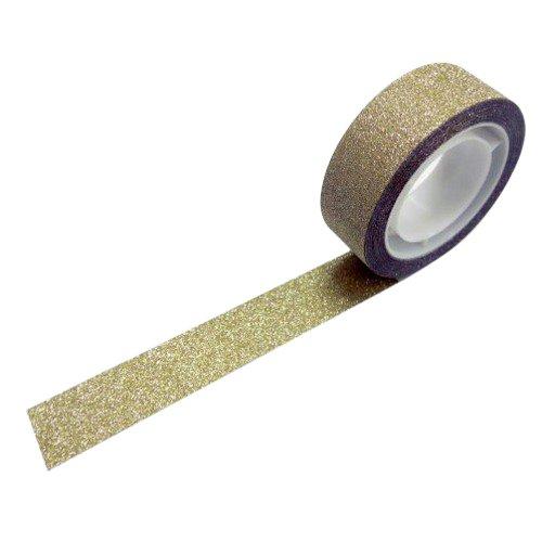 グリッターテープ プレーンゴールド