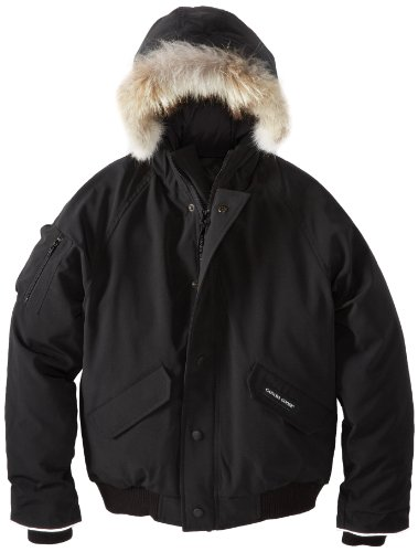 Canada Goose Youth Rundle Bomber, Black, Large (Canada Goose For Boys compare prices)