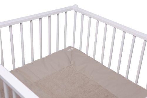 Koeka 85x95cm Sevilla Playpen Blanket (Stone/Dark Grey)