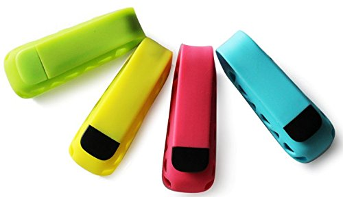 MDW Colorful Replacement Clip Holder for Fitbit One (delight color 4 pack)