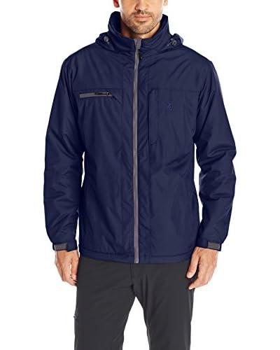 IZOD Men's Tonal Ripstop Jacket with Fleece Lining