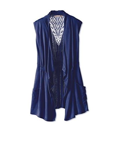 Cashmere Addiction Women's Draped Vest