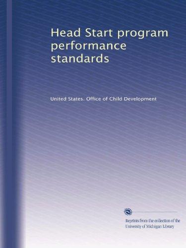 Head Start Program Performance Standards front-700679