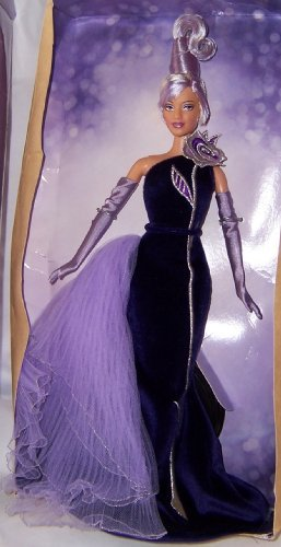 Bob Mackie Avon The Sterling Silver Rose Barbie Collectibles Doll
