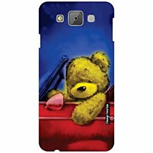 Design Worlds Samsung Galaxy E7 Back Cover - Teddy Designer Case and Covers