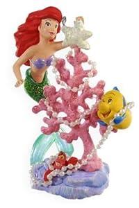 #!Cheap Merry Coral Christmas Tree Disney's The Little Mermaid Ariel 2009 Hallmark Keepsake ornament QXD2065