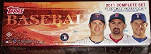2011 Topps Baseball Complete Gift Collection Including the Hobby Version Factory... by Topps