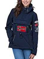 Geographical Norway Softshell Tulbeuse (Azul Marino)