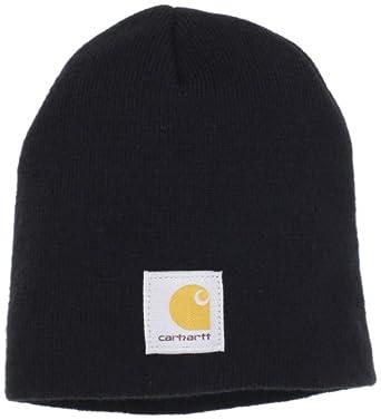 Carhartt Men's Acrylic Knit Hat, Black, One Size