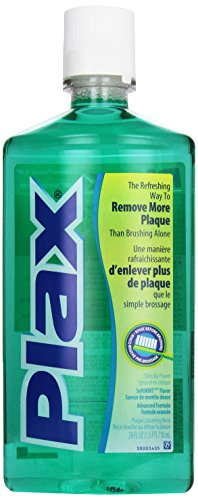 Plax Advanced PreBrushing Dental Rinse, Soft Mint, 24 Ounce Image