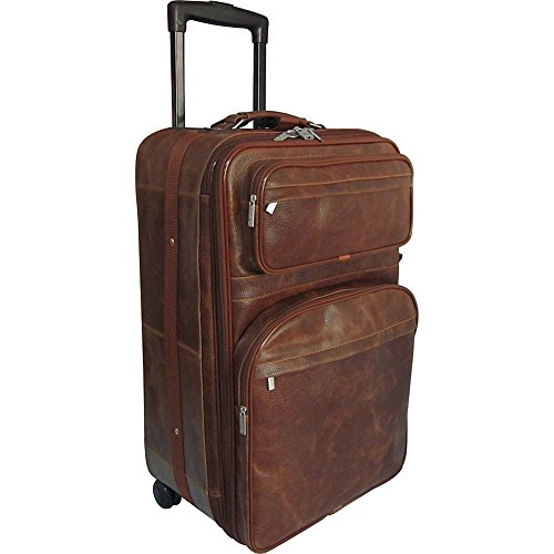 amerileather-25-expandable-suitcase-with-wheels-waxy-brown