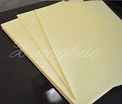 45pcs A4 Clear Transparent Film Adhesive Sticker Paper for Laser Printer