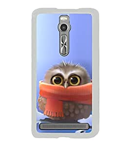 Cute Baby Owl 2D Hard Polycarbonate Designer Back Case Cover for Asus Zenfone 2 ZE551ML