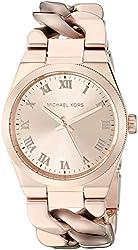 Michael Kors Women's Channing Rose Gold-Tone Watch MK3414