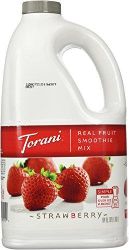 Torani Strawberry Real Fruit Smoothie Mix, 64 oz (Fruit Smoothie compare prices)