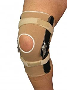 how to measure for open patella knee brace