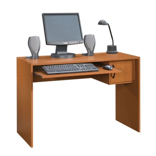 Mission Cherry Computer Desk Workstation