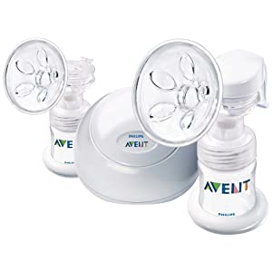 Philips AVENT BPA Free Twin Electric Breast Pump $99.98