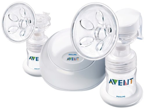 Philips AVENT BPA Free Twin Electric Breast Pump, White