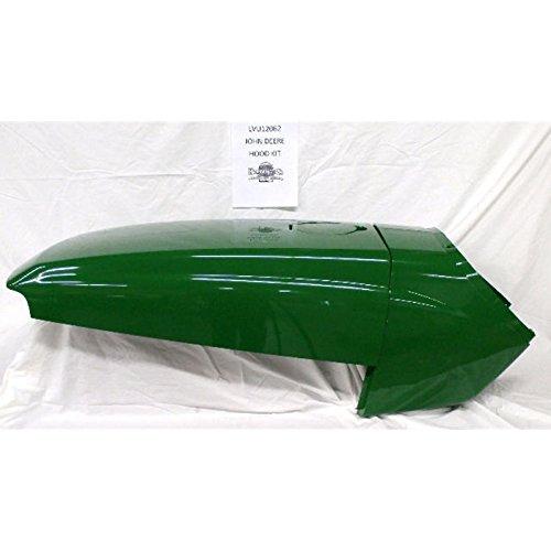 John Deere hood fuel door cowl set 4200 4210 4300 4310 4400 4410 LVU12062FDIC (John Deere 4300 Hood compare prices)