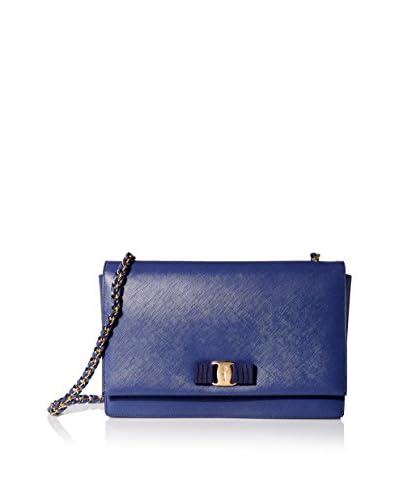 Salvatore Ferragamo Women's Medium Vara Shoulder Bag, New Iris