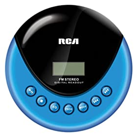 Amazon.com : RCA RP3013 Personal CD Player with FM Radio : Portable Cd