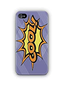 YuBingo Cool Mobile Case Back Cover for Apple iPhone 4