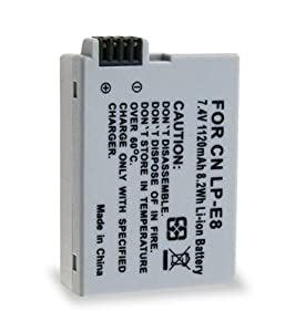 Vivitar VIV-CB-E8 - BATTERY FOR CANON LP-E8