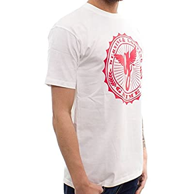 GRIMEY T-Shirt Classic Logo Antique Wht.