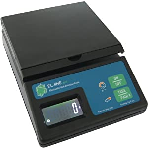 Tough scales 10 lb capacity postal scale with for Bluetooth kitchen scale