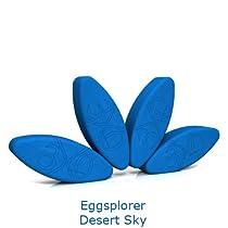 Eggsplorer 4-Egg Ergonomic Yoga Block Set from Three Minute Egg®