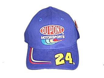Buy 24 Dupont Jeff Gordon Nascar Racing Cap Hat One Size by NASCAR