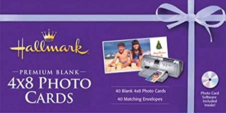 Nova Development US Hallmark Premium Blank 4x8 Photo Cards
