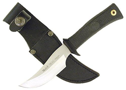 "MUELA PIK-AS-R Skinner Knife with Leather Sheath, 7-3/4"""