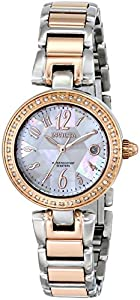 Invicta Women's 15872 Angel Analog Display Swiss Quartz Two Tone Watch