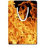 Fire flames Bookmark Great Gift Idea