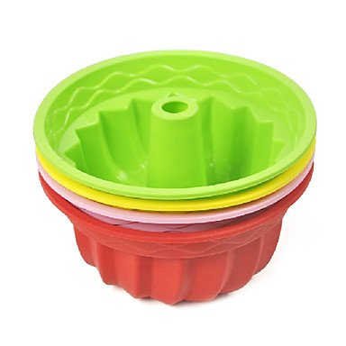 Muffin Silicone Mould Cake Decorating Baking Tool Random Color BOYI B00TEQQGFO